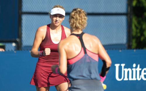 US Open. Людмила Киченок вышла в третий раунд в паре