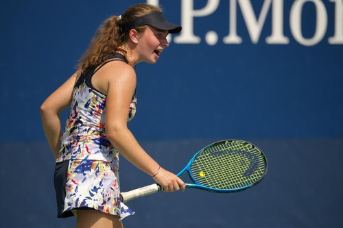 US Open. Снигур потерпела неудачу во втором раунде юниорского турнира