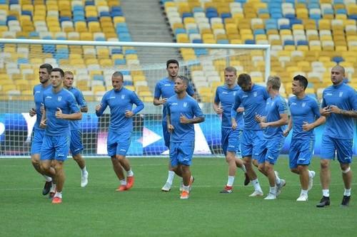 Збірна України провела відкрите тренування на НСК Олімпійський