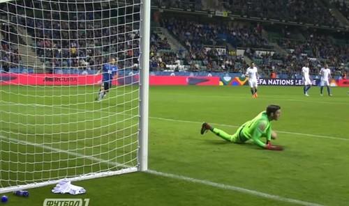 Эстония — Греция — 0:1. Видео гола и обзор матча