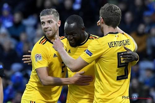 Бельгия уверенно разобралась с Исландией
