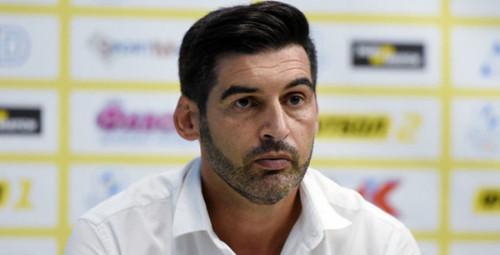 ФОНСЕКА: «Думаем не о Лиге чемпионов, а о матче с Александрией»
