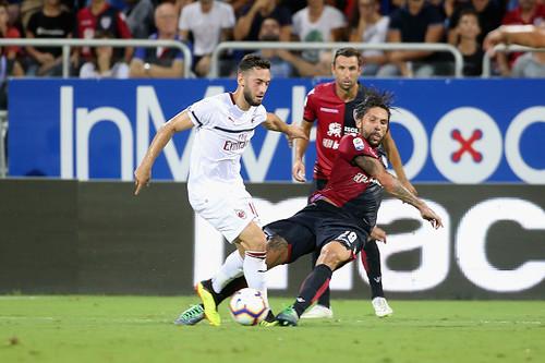 Гол Игуаина не помог Милану обыграть Кальяри