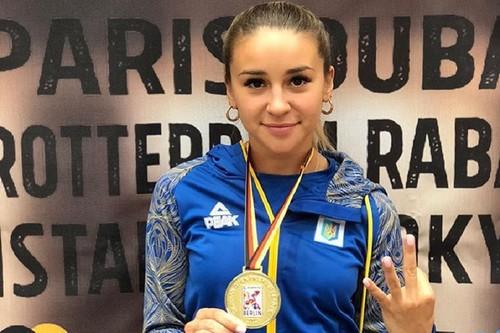 Украинская спортсменка победила на престижном турнире по карате