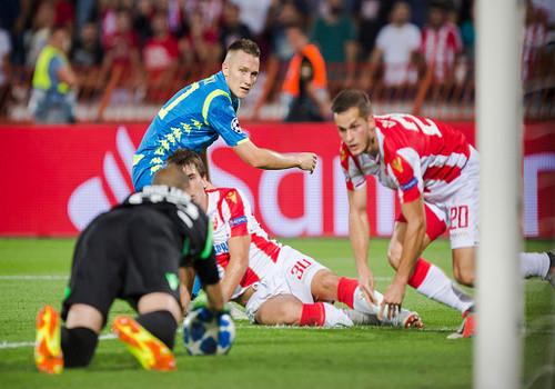 Црвена Звезда - Наполи - 0:0. Обзор матча
