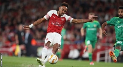 ОБАМЕЯНГ: «Арсенал нацелен на выход в финал Лиги Европы»