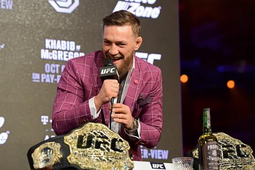 Макгрегор подписал контракт с UFC на 8 поединков