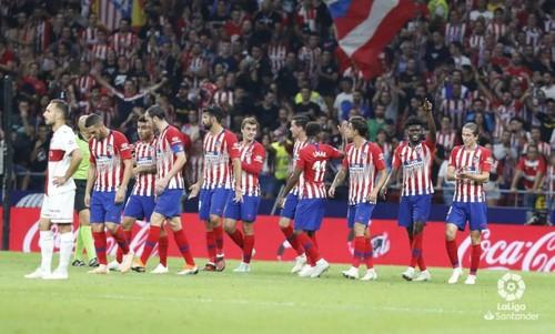 Атлетико — Уэска — 3:0. Видео голов и обзор матча