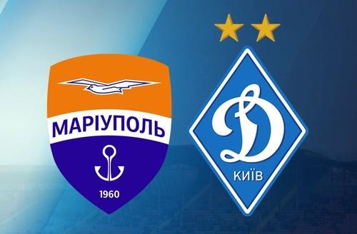 Мариуполь – Динамо. Видео голов и обзор матча (обновляется)