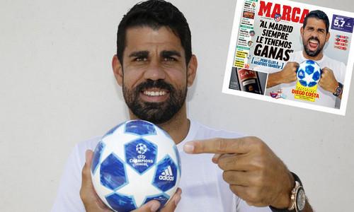 Диего КОСТА: «Мы всегда хотим побеждать Реал»