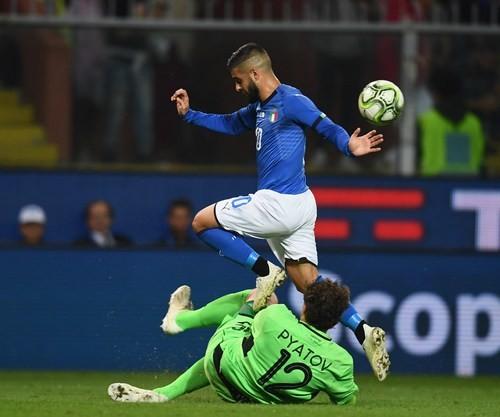 Итальянские СМИ: «Мокрый газон сыграл с Пятовым злую шутку»