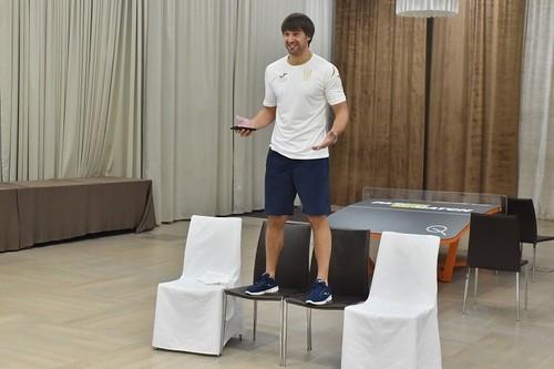 Шовковский спел «Команда молодости нашей» в сборной Украины