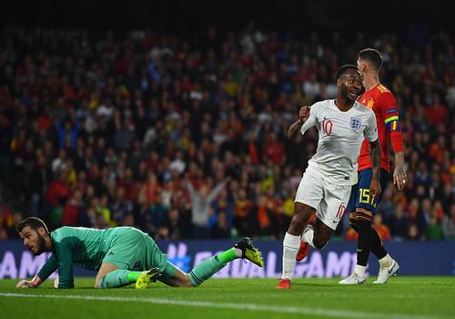 Сборная Англии в Севилье нанесла поражение Испании