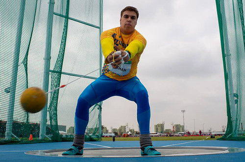 Юнацькі ОІ. Кохан здобув золоту медаль у метанні молота