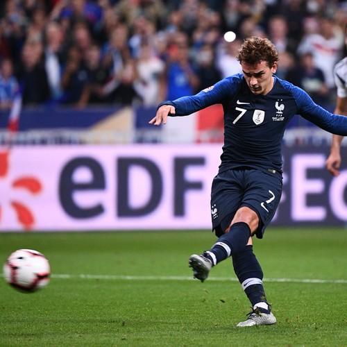 Франция – Германия. Видео второго гола Гризманна