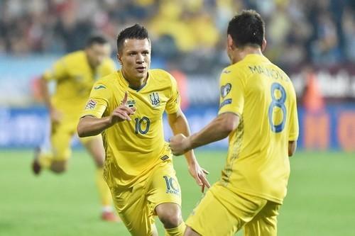 Украина — первая сборная, которая вышла в элитный дивизион Лиги наций