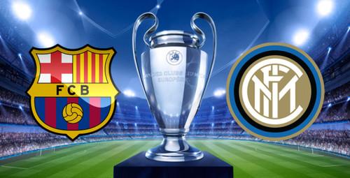 Где смотреть матч Лиги чемпионов Барселона - Интер