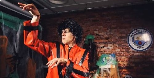ВИДЕО ДНЯ. Зинченко поздравил фанатов Манчестер Сити с Хеллоуином