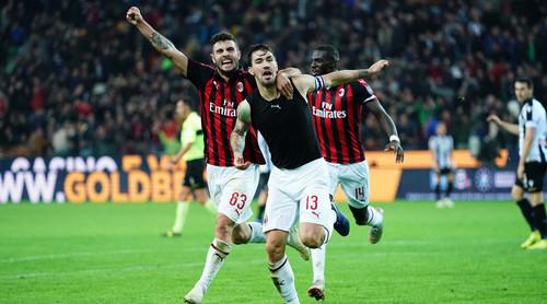 Милан впервые за 17 матчей не пропустил в Серии А