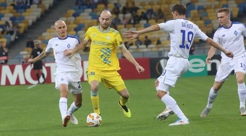 Киевское Динамо и еще 12 клубов вышли в плей-офф Лиги Европы