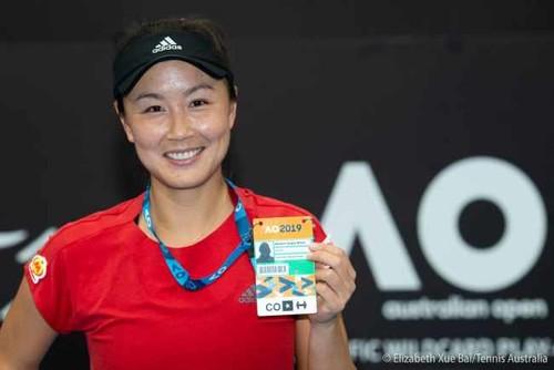 Пэн Шуай выиграла wild card на Australian Open