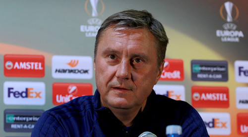 ХАЦКЕВИЧ: «Надеюсь, на Динамо придет больше зрителей, чем на Шахтер»