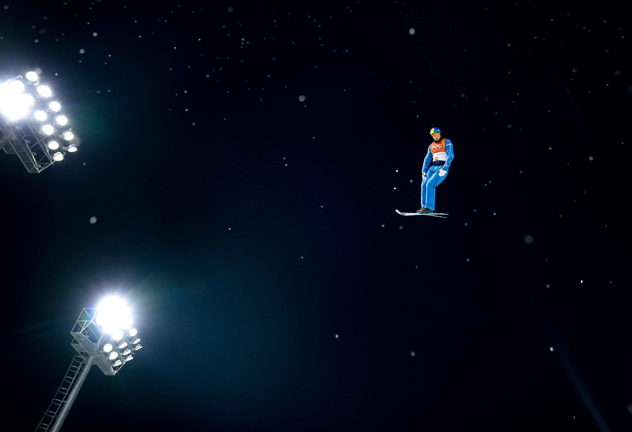 Победный прыжок Абраменко на Играх – в топ-100 лучших фото 2018 года