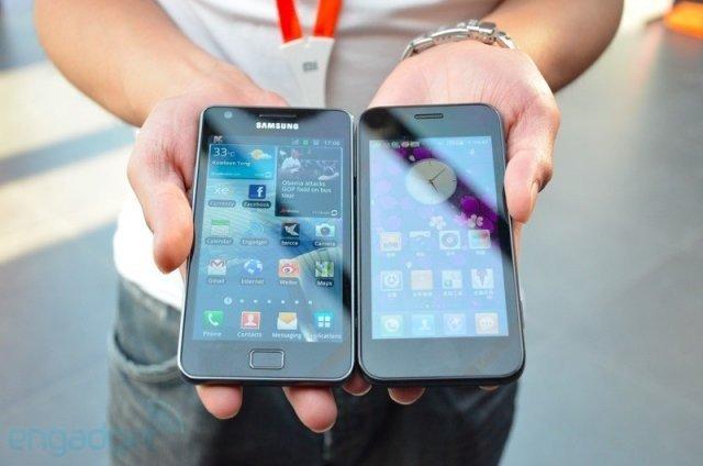 Китайские копии телефонов Samsung