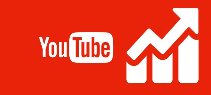 The increase in views on YouTube for $1
